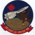US Marine Corps 3rd Light Anti-Aircraft Missile Battalion Patch