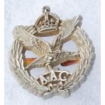 WWII Royal Air Force Army Air Corps War Economy Cap Badge