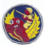 ASMIC WWII - Occupation Period Aviation Engineers Japanese Raw Silk Patch
