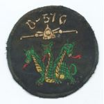 Vietnam US Air Force 13th Bomb Squadron Tactical B-57 Squadron Patch