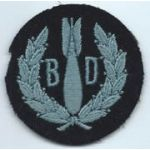 WWII Royal Air Force Bomb Disposal Sleeve Patch