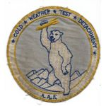 WWII Army Air Forces Cold Weather Test Detachment Alaska Squadron Patch