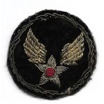 WWII CBI Made Bullion AAF Headquarters Patch