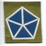 WWI 5th Corps Liberty Loan Patch