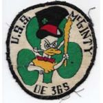 1950's US Navy Disney Design USS McGinty DE 365 Ships Patch