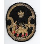 1940's-1950's Mission To Iran Bullion Patch