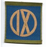 WWI IX / 9th Corps Liberty Loan Patch