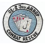 Vietnam US Air Force OL-2 3rd Air Rescue Recovery Group Combat Rescue Squadron Patch
