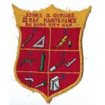 US Marine Corps Jones's Gypsies III MAF  Maintenance Danang Vietnam Patch