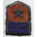 WWII Middle East Forces Theatre Made Bullion Patch