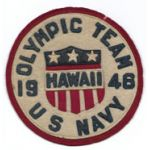 US Navy Olympic Team 1946 Patch