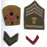 WWI Artillery Ordnance Repair School Insignia Set
