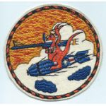 WWII - Late 1940's Fleet Air Support Unit 3 / FASU Squadron Patch