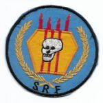 Vietnam Special Recon Force Coffin Pocket Patch