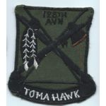 Vietnam 128th Aviation TOMAHAWKS Pocket Patch