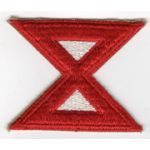 WWII 10th Army Patch