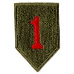 WWII 1st Division Patch