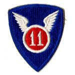 WWII 11th Division Patch