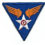 WWII AAF 12th Air Force Patch