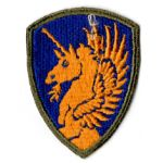 WWII 13th Division Patch
