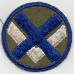 WWII 15th Corps  Patch