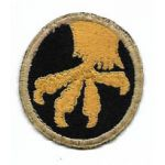 WWII 17th Airborne Division English Made Patch
