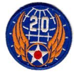 WWII AAF 20th Air Force Patch