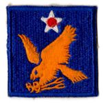 WWII 2nd Army Air Force Patch