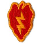 WWII 25th Division Patch