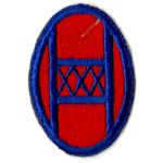 WWII 30th Division Patch
