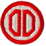 WWII 31st Division Patch