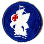 WWII Caribbean Defense Command  Patch