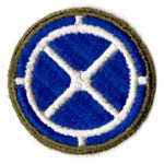 WWII 35th Division Patch