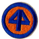 WWII 44th Division Patch