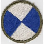 WWII 4th Corps Patch