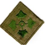 WWII 4th Division Patch