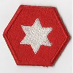 WWII 6th Army Old Style Patch