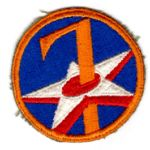 WWII AAF 7th Air Force Patch