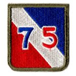 WWII 75th Division Patch