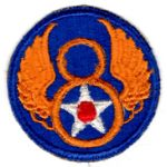 WWII AAF 8th Air Force Patch