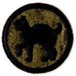 WWII 81st Division Patch