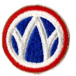 WWII 89th Division Patch