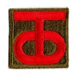 WWII 90th Division Patch