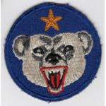 WWII Alaskan Defense Command Patch