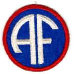 WWII Allied Forces Patch