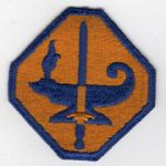 WWII ASTP / Army Specialized Training Program Patch