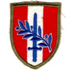 WWII Austrian Occupation Forces Patch