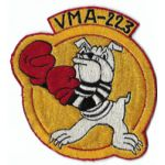 1950's US Marine Corps VMA-223 Japanese Made Squadron Patch