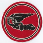 WWII AAF 83rd Bomb Squadron CBI Made Squadron Patch