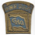 WWII - Occupation Period GHQ Honor Guard Japanese Made Bullion Patch